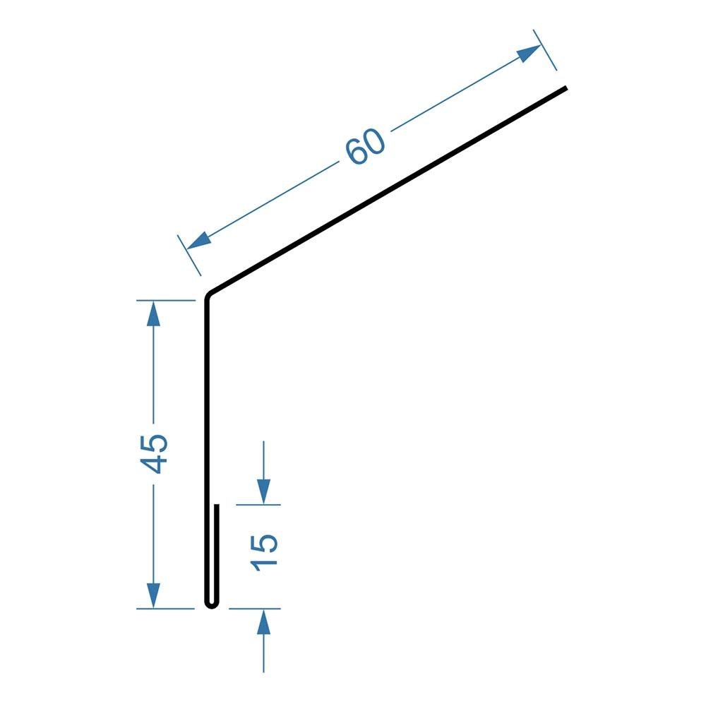 размеры капельника для металлочерепицы